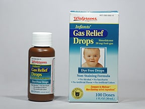 Infants Gas Relief 40 mg/0.6 mL oral drops,suspension