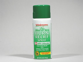 Burn Relief with Aloe 0.5 % topical spray