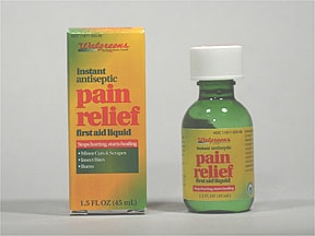 Pain Relief Instant Antiseptic 10.8 %-4.7 % topical solution