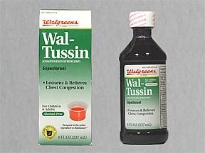 Adult Wal-Tussin 100 mg/5 mL oral liquid