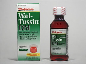 Wal Tussin Dm Oral Uses Side Effects Interactions Pictures