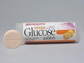 glucose 4 gram chewable tablet