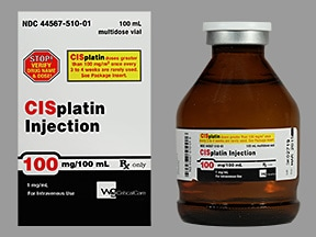 cisplatin 1 mg/mL intravenous solution