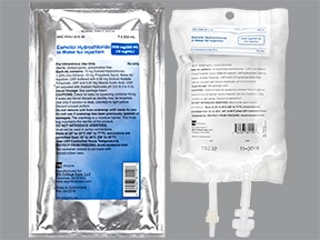 esmolol 2,500 mg/250 mL (10 mg/mL) in sterile water intravenous soln