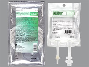 esmolol 2,000 mg/100 mL (20 mg/mL) in sterile water intravenous soln