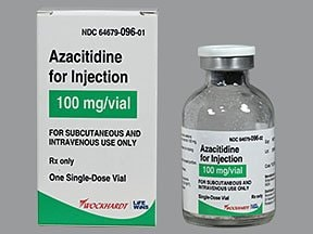 azacitidine 100 mg solution for injection