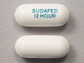 Sudafed 12 Hour 120 mg tablet,extended release