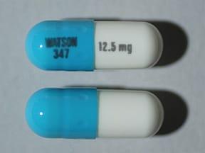 hydrochlorothiazide 12.5 mg capsule