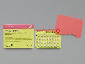 Zovia 1/35E (28) 1 mg-35 mcg tablet