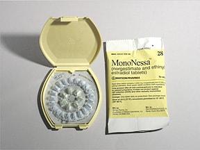 Mononessa (28) 0.25 mg-35 mcg tablet