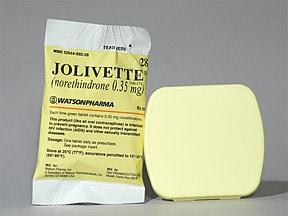Jolivette 0.35 mg tablet