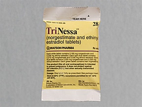 TriNessa (28) 0.18 mg(7)/0.215 mg(7)/0.25 mg(7)-35 mcg tablet