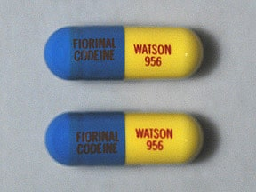 Fiorinal-Codeine #3 30 mg-50 mg-325 mg-40 mg capsule