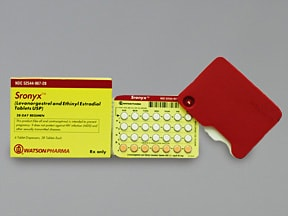 Sronyx 0.1 mg-20 mcg tablet