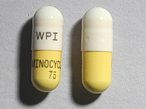 minocycline 75 mg capsule