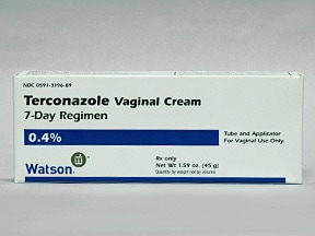 terconazole 0.4 % vaginal cream