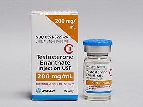 Testosterone Enanthate Intramuscular : Uses, Side Effects