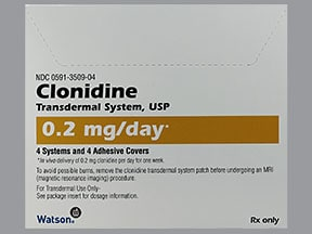 Clonidine Transdermal : Uses, Side Effects, Interactions ...