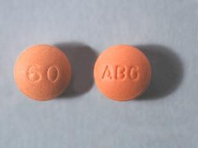 morphine ER 60 mg tablet,extended release