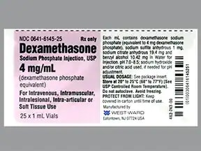 dexamethasone sodium phosphate 4 mg/mL injection solution