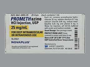 promethazine 25 mg/mL injection solution