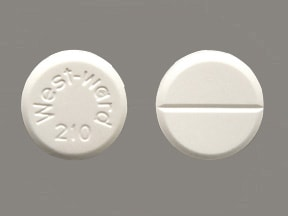 chlorothiazide 500 mg tablet
