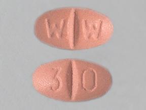 isosorbide mononitrate ER 30 mg tablet,extended release 24 hr