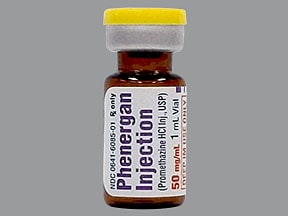 Phenergan 50 mg/mL injection solution