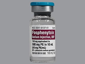 fosphenytoin 500 mg PE/10 mL injection solution