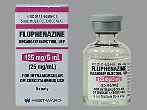 fluphenazine decanoate 25 mg/mL injection solution