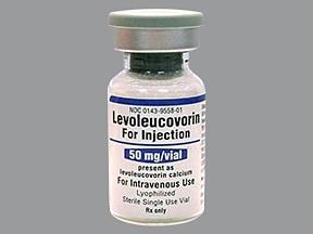 levoleucovorin 50 mg intravenous powder for solution