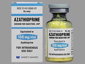 azathioprine 100 mg solution for injection