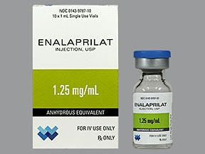 enalaprilat 1.25 mg/mL intravenous solution