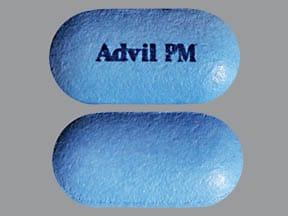 Advil PM 200 mg-38 mg tablet