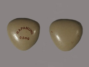 Rapamune 0.5 mg tablet