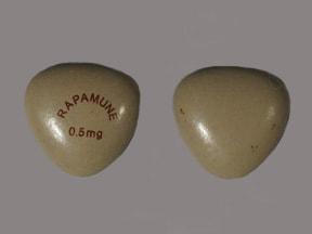 sirolimus 0.5 mg tablet