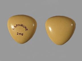 sirolimus 2 mg tablet