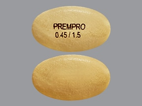 Prempro 0.45 mg-1.5 mg tablet