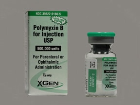 polymyxin B sulfate 500,000 unit solution for injection