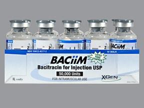 BACiiM 50,000 unit intramuscular solution