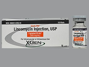lincomycin 300 mg/mL injection solution