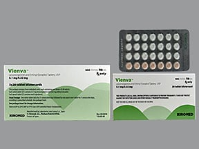 Vienva 0.1 mg-20 mcg tablet