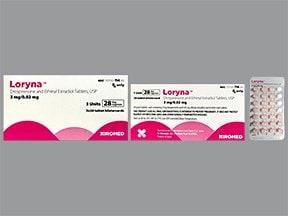 Loryna (28) 3 mg-0.02 mg tablet