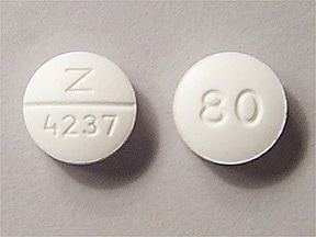 nadolol 80 mg tablet