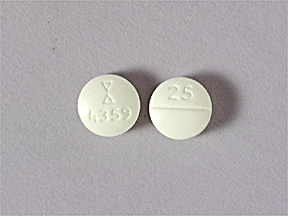 clozapine 25 mg tablet