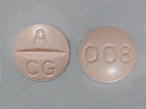 candesartan 8 mg tablet