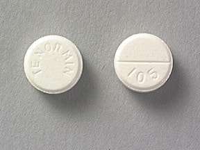 Tenormin 50 mg tablet