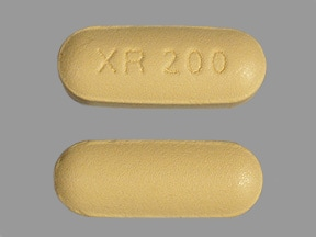 Seroquel XR 200 mg tablet,extended release