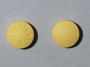 Crestor 5 mg tablet
