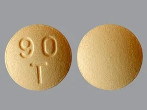 Brilinta 90 mg tablet